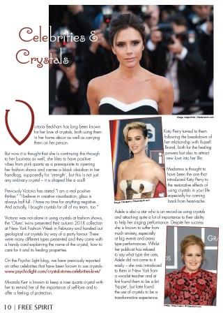 Celebrities and Crystals